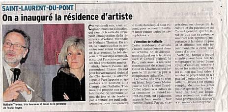 Article-DL-22022014-Nathalie-Thomas-Inauguration-de-la-résidence d'artiste A quoi rêvent les fées