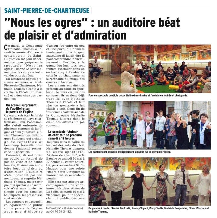 "Compagnie Nathalie Thomas, Spectacle ""Nous les Ogres"""