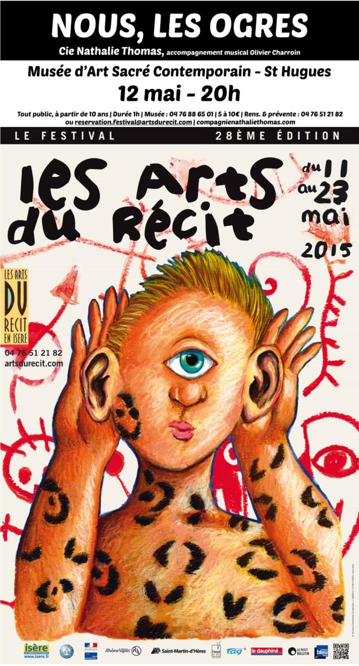 Compagnie Nathalie Thomas, Nous les ogres, festival des arts du récit 2015
