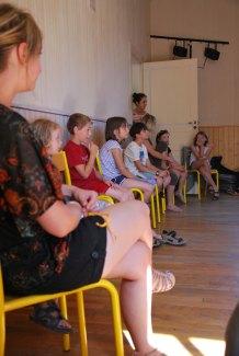 Ateliers des artistes du plus petit FESTIVAL DE CONTES du monde ouverts au public.